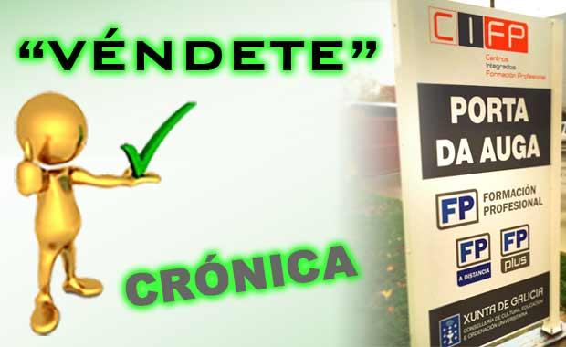 """""""VÉNDETE"""" en el CIFP Porta da Auga – Ribadeo"""