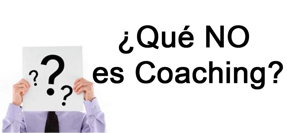 ¿Qué NO es Coaching?