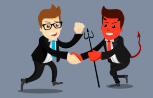 ¿Cómo actúas con empresas que buscan ventas sin importarle el cliente?