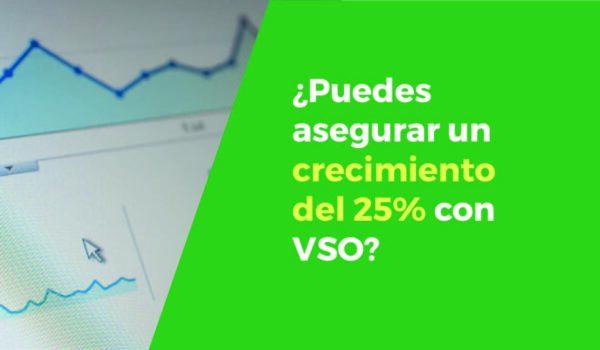 ¿Me puedes garantizar un crecimiento de ventas de más de un 25%?